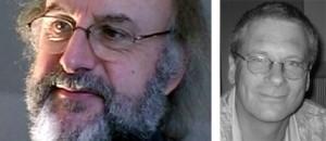 Links: Werner Früh (Foto: privat); Rechts: Hans-Bernd Brosius (Foto: Michael Meyen)