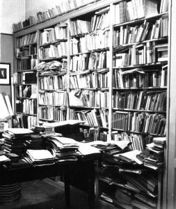 Arbeitszimmer von Karl d'Ester (Quelle: Privatarchiv Heinz Starkulla junior)
