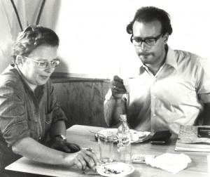 Elisabeth Löckenhoff und Hans Bohrmann 1970 (Quelle: Privatarchiv Hans Bohrmann)