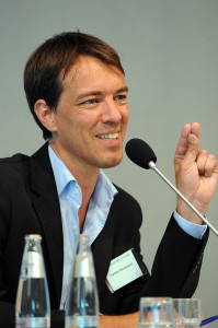 Carsten Reinemann am 12. Juni 2013 bei einer Konferenz der Böll-Stftung. Thema: Medien im Wahlkampf (Foto: Ulli Winkler, www.talk-republik.de)