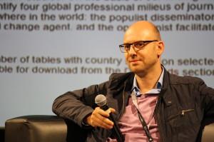 Thomas Hanitzsch 2012 (International Conference on Journalism Studies, Chile; Foto: privat)