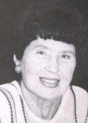 Marianne Lunzer-Lindhausen (Quelle: Duchkowitsch 1985)