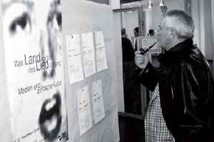 Matthias Steinmann auf der Tagung zum zehnjährigen Jubiläums des Berner Instituts 2002 (Quelle: Blum 2010)