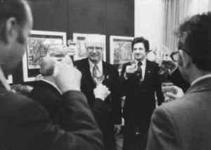 Karl-Heinz Röhr und Heinrich Bruhn (Quelle: Privatarchiv Karl-Heinz Röhr)