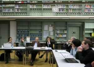 Mandy Tröger, Erik Koenen, Gerd Kopper, Martina Thiele, Arnulf Kutsch, Ingrid Klausing, Andreas Scheu (v.l.n.r., Foto: Markus Thieroff)